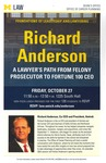Richard Anderson: A Lawyer's Path From Felony Prosecutor to Fortune 100 CEO