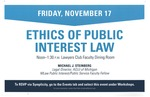 Ethics of Public Interest Law