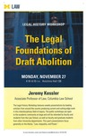 The Legal Foundations of Draft Abolition