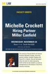 Michelle Crockett: Hiring Partner Miller Canfield