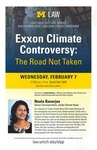 Exxon Climate Controversy: The Road Not Taken