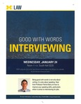 Good with Words: Interviewing