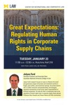 Great Expectations: Regulating Human Rights in Corporate Supply Chains