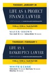 Life as a Project Finance Lawyer / Life as a Bankruptcy Lawyer