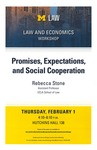Promises, Expectations, and Social Cooperation