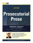 Prosecutorial Prose
