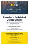 Diversion in the Criminal Justice System