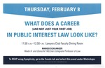 What Does a Career (and Not Just Your First Job) in Public Interest Law Look Like?