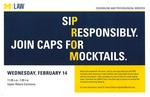 Sip Responsibly. Join CAPS for Mocktails.