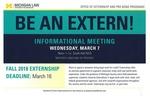 Be an Extern!