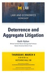 Deterrence and Aggregate Litigation