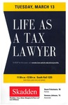 Life as a Tax Lawyer