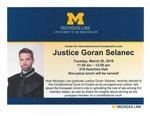 Justice Goran Selanec