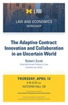 The Adaptive Contract: Innovation and Collaboration in an Uncertain World