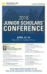 2018 Junior Scholars' Conference