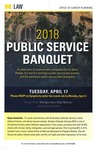 2018 Public Service Banquet by University of Michigan Law School