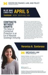 Contracts Without Courts: The Value of Contractual Protection in an Era of Absolute Sovereign Immunity by University of Michigan Law School