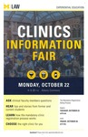 Clinics Information Fair by University of Michigan Law School