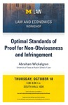 Optimal Standards of Proof for Non-Obviousness and Infringement by University of Michigan Law School