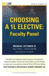 Choosing a 1L Elective: Faculty Panel by University of Michigan Law School