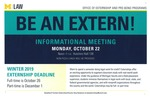 Be an Extern! by University of Michigan Law School