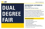 Dual Degree Fair by University of Michigan Law School