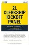 2L Clerkship Kickoff Panel by University of Michigan Law School