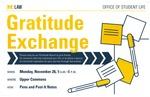 Gratitude Exchange by University of Michigan Law School