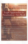 Legal Approaches to Prostitution/Sex Work by Human Rights Advocates
