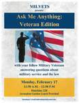 Ask Me Anything: Veteran Edition by Michigan Law Veterans Society
